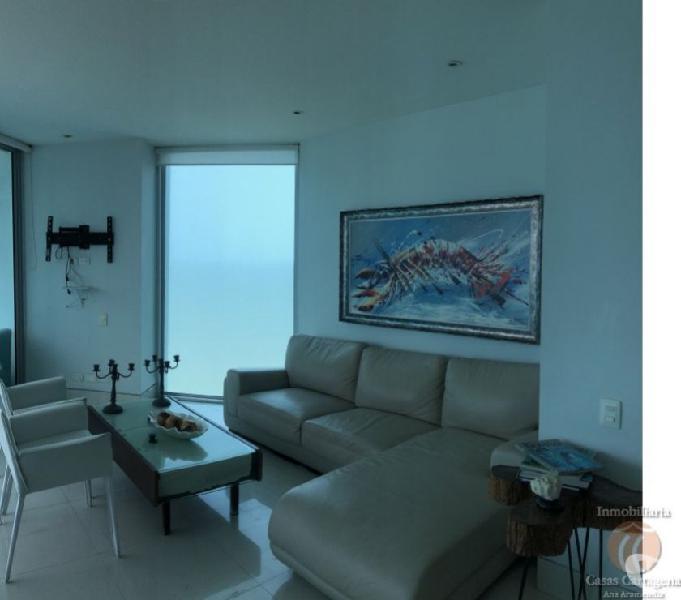 Venta apartamento cartagena 2 alcobas frente al mar