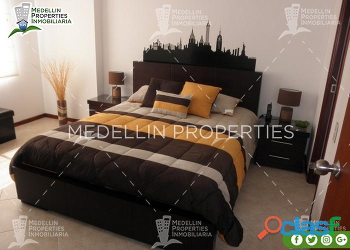 Apartamentos Amoblados Por Mes en Medellín Cód: 4225
