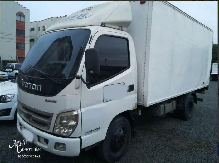Foton bj1043 furgon seco 2014 para 3 toneladas