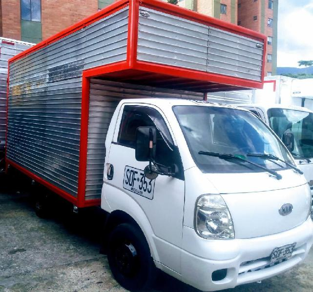 Kia k3000 furgón diesel 4 tonelada