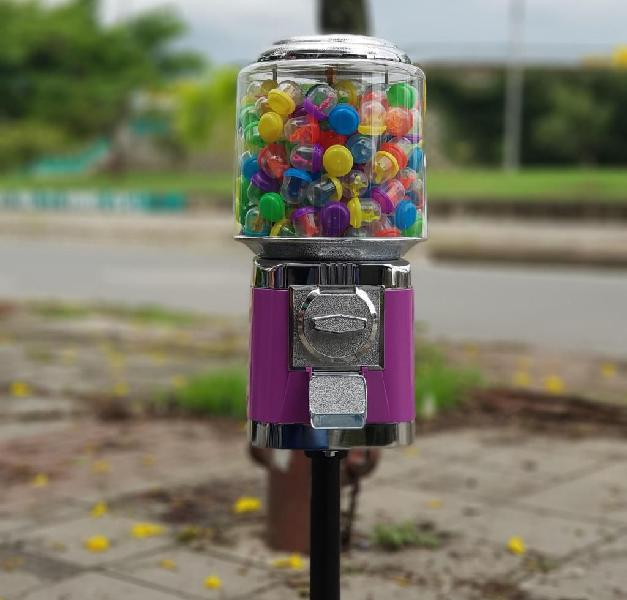 Maquina dispensadora de dulces chiclera