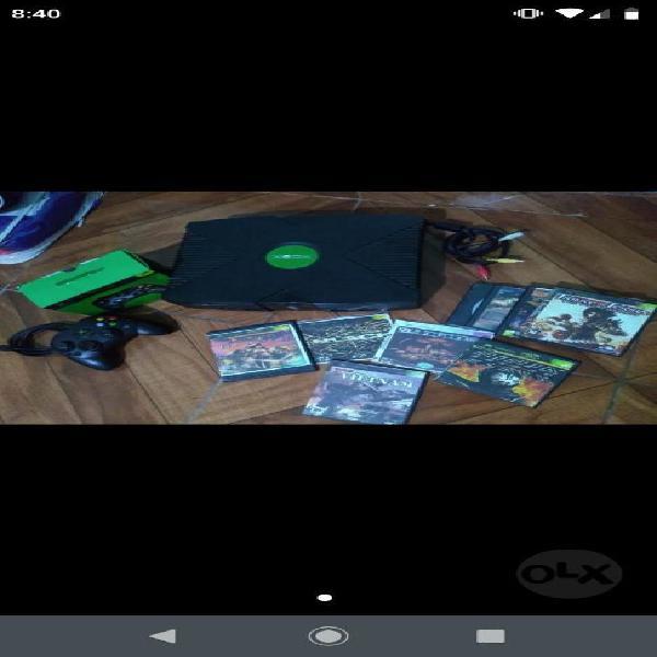 Xbox negro como nuevo!!