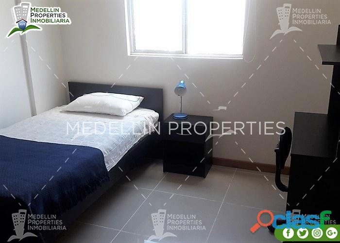 Apartamentos Amoblados en Alquiler en Medellín Cód: 4471