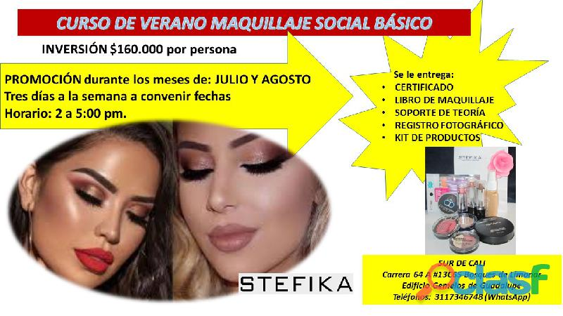 Curso de maquillaje en cali gratis recibe kit de productos