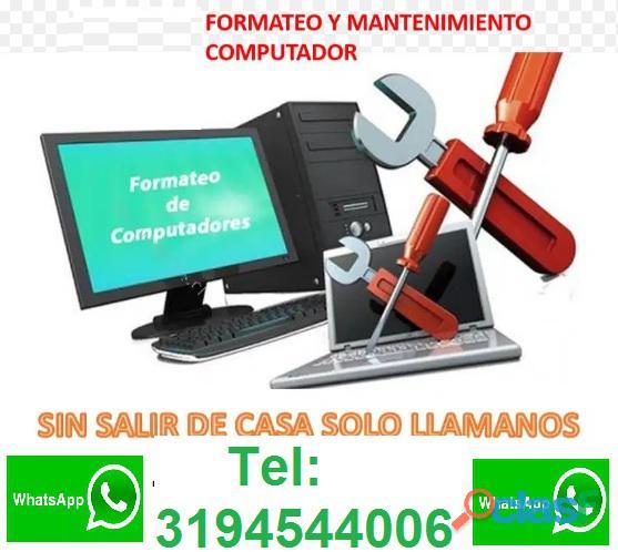 REPARACIÓN COMPUTADORES ITAGUI ANTIOQUIA TEL:3194544006