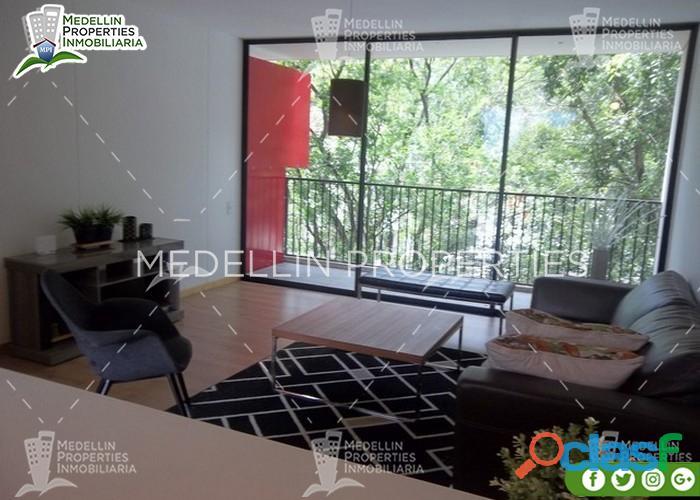 Aptos Amoblados en Renta en Medellín Cód: 4608 4