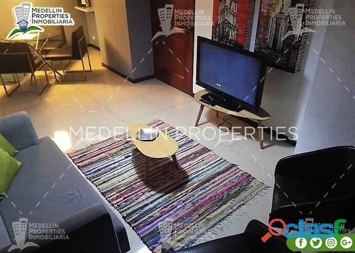 Aptos Amoblados en Renta en Medellín Cód: 4614