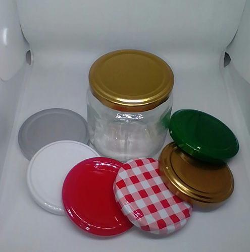 Envase Compota 230cc Vidrio (tarro De 230cc Para Alimentos)