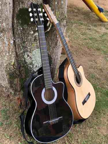 Guitarras Acusticas Edicion Especial+forro+ Metodo+limpiador