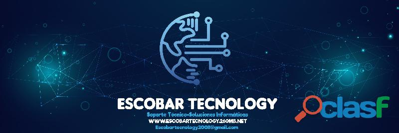 Escobar tecnology (soluciones informaticas   soporte tecnico