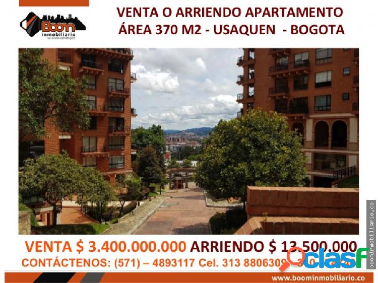**venta arriendo apartamento 370 m2 usaquen