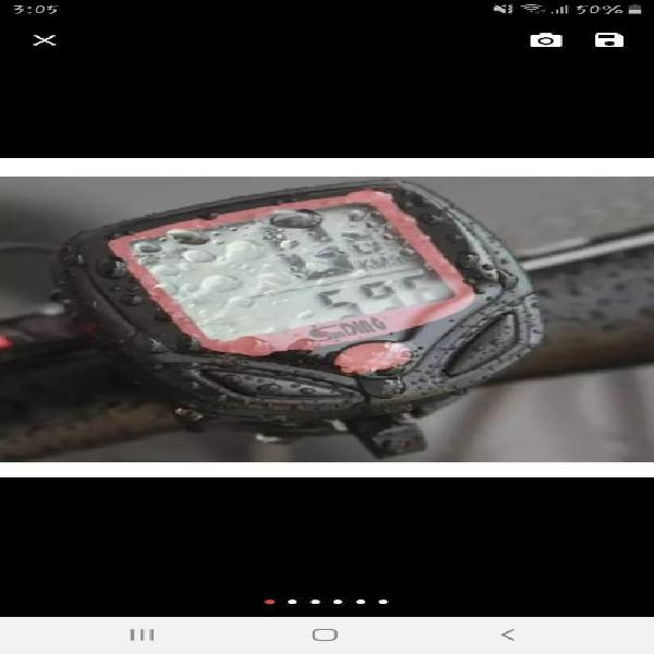 Velocímetro para bicicleta digital
