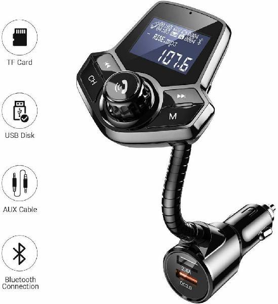 Transmisor fm bluetooth para carro