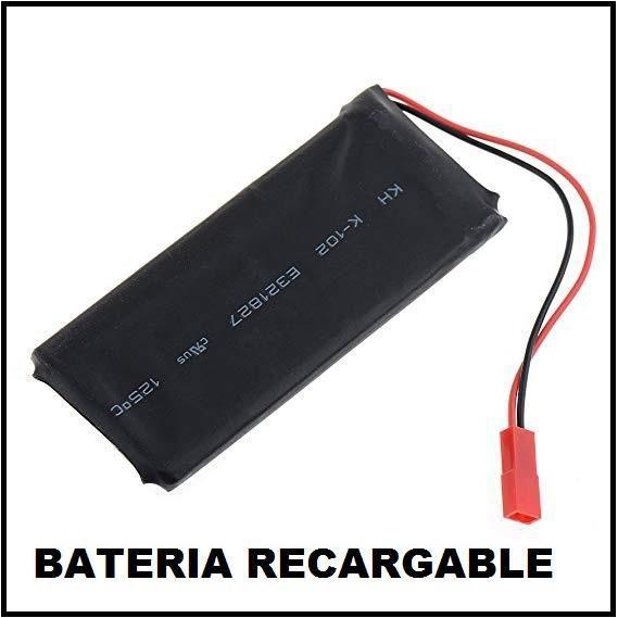 Batería de litio de 3,7 v. y 2500 mah