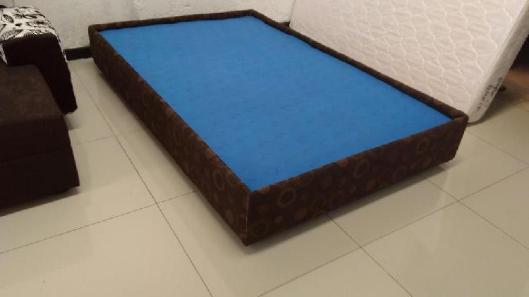 Base camas nuevas, hermosas desde 149000