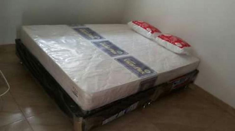 Gran combo base cama colchon y obsequio