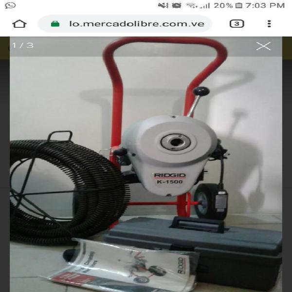Servicios de plomeria con equipos electr
