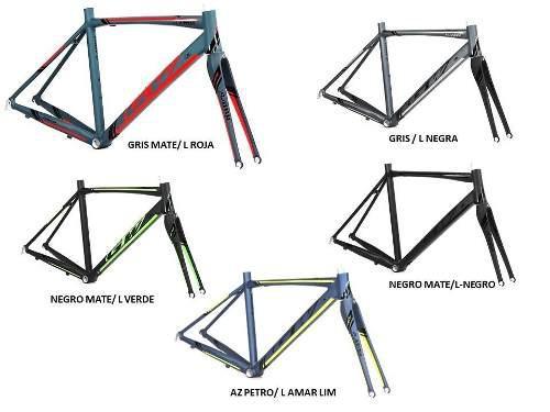 Marco gw flamma ruta ciclismo aluminio carbono