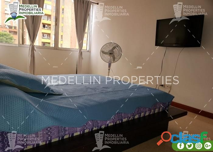 Apartamentos amoblados para alquilar en el poblado cod: 5025