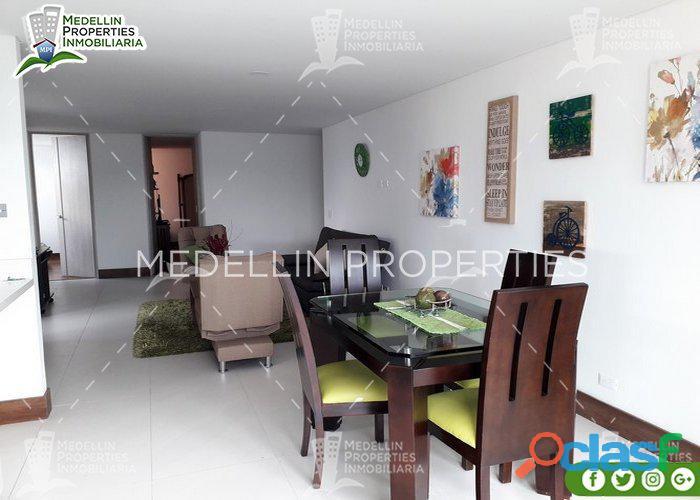 Apartamentos amoblados por mes en sabaneta cod: 5012