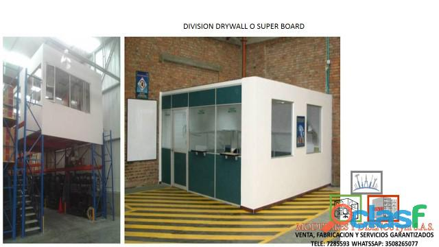 Instalacion y mantenimiento de divisiones