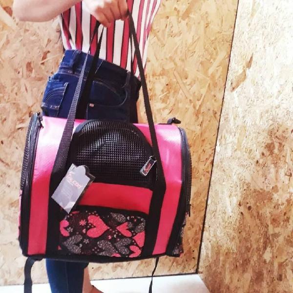 Guacal bolso transportador para mascotas perro gatos aves