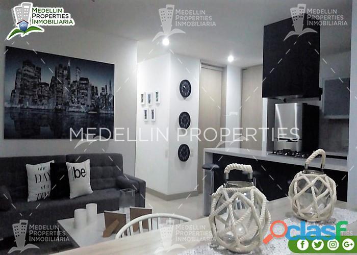 Apartamentos amoblados en alquiler el sur cód: 4951*