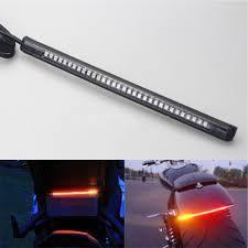 Stop cinta led flexible lujo para moto con direccionales