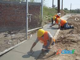 Fabricación de obras civiles.