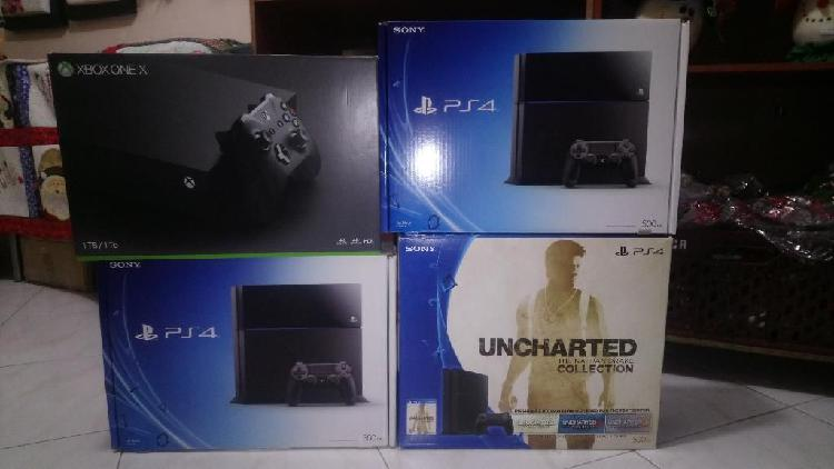 Cajas ps2 ps3 ps4 xbox one 360