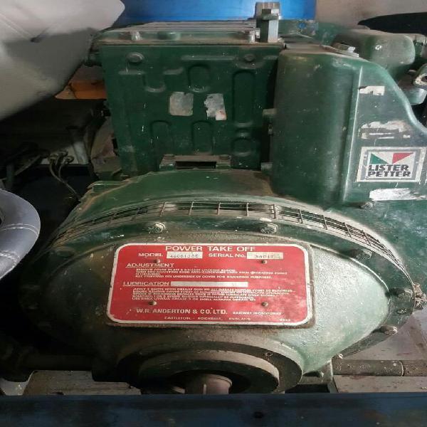 Motor Diesel 38 Hp Lister Peter
