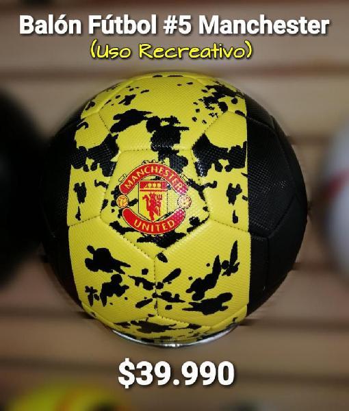Balon futbol manchester cosido recreativo