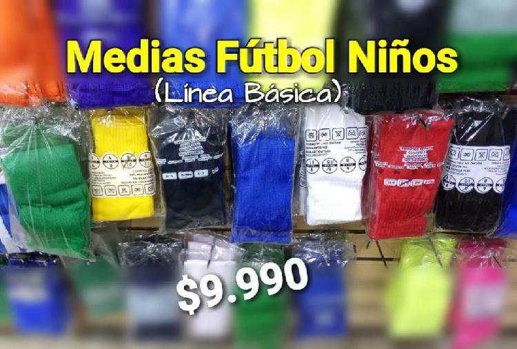 Medias de fútbol para niño junior