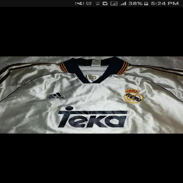 Camiseta real madrid 1999