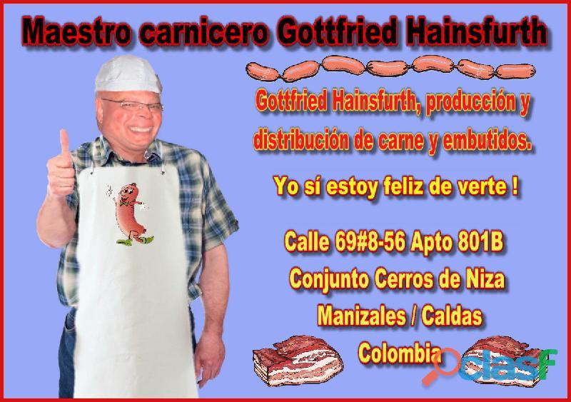 Gottfried hainsfurth, producción y distribución de carne y embutidos.