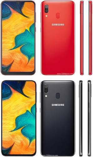 Celular libre samsung a30 6.4'' 32gb + 32gb micro sd 64gb
