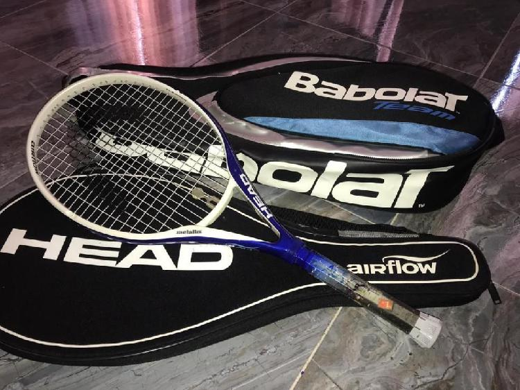 Raqueta head usada