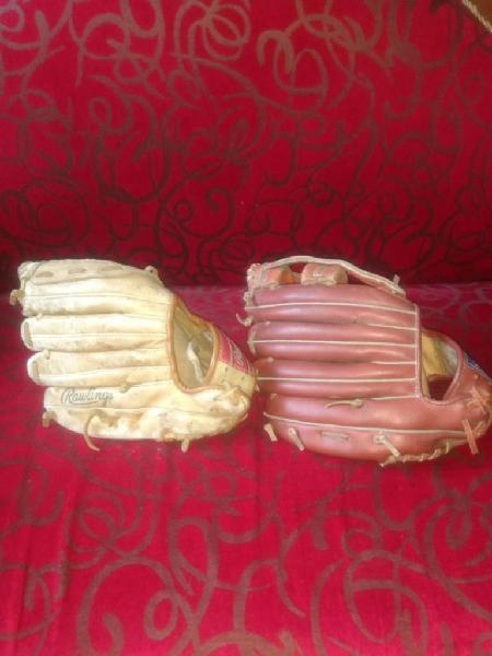 Vendo guantes beibol para niño