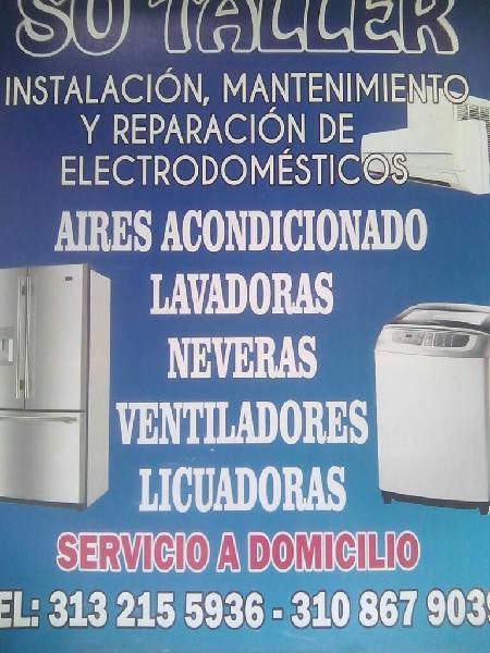 Servi lavadoras y linea blanca