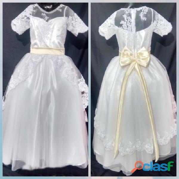 Alquiler de vestidos niña primera comunión medellin itagui