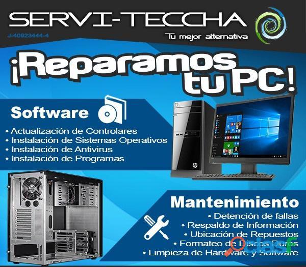 Reparación y mantenimiento de computadores todo el valle de aburra tel: 4560299