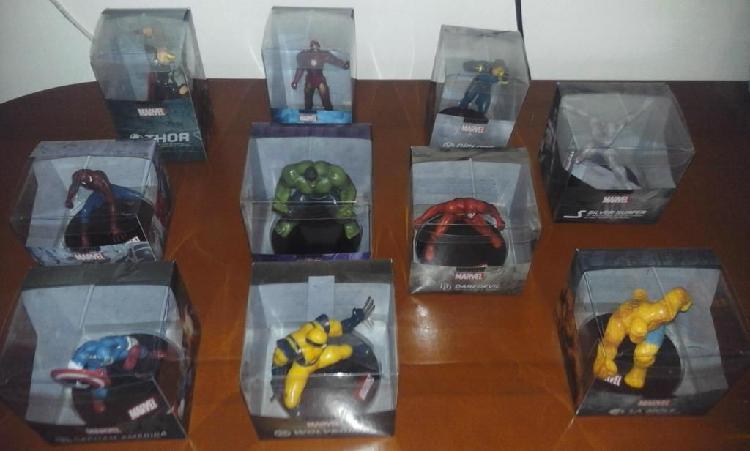 Colección completa superhéroes marvel