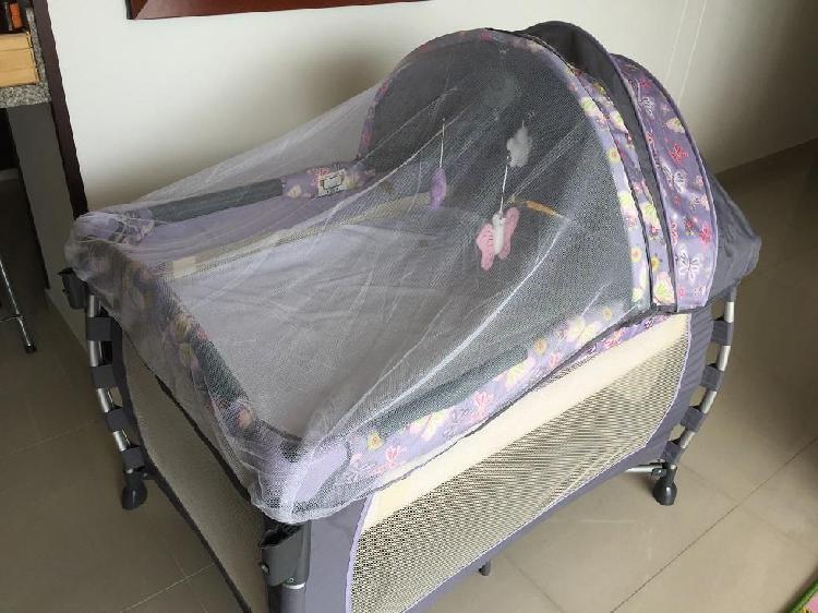 Corral cuna para bebe con moises marca ebaby