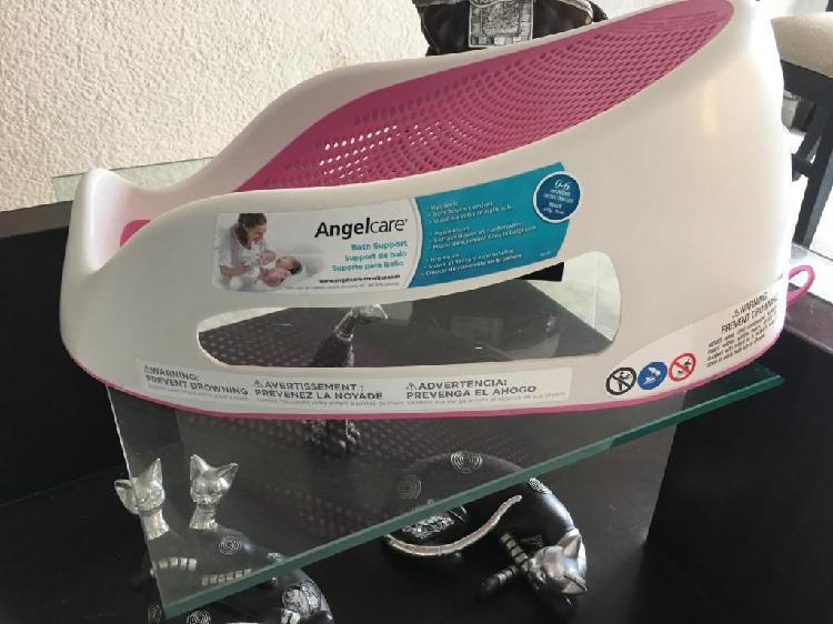 Superganga antideslizante para bañar al bebe recien nacido
