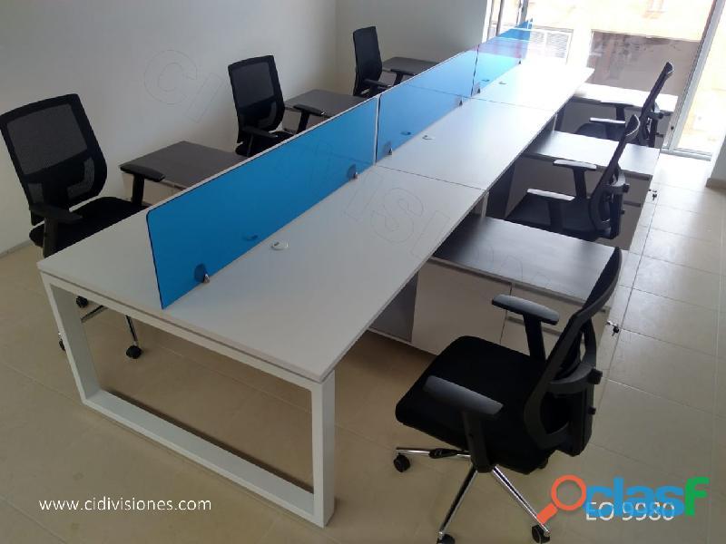 Fabrica de muebles y divisiones oficina