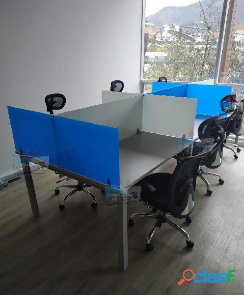 Mobiliario para call center