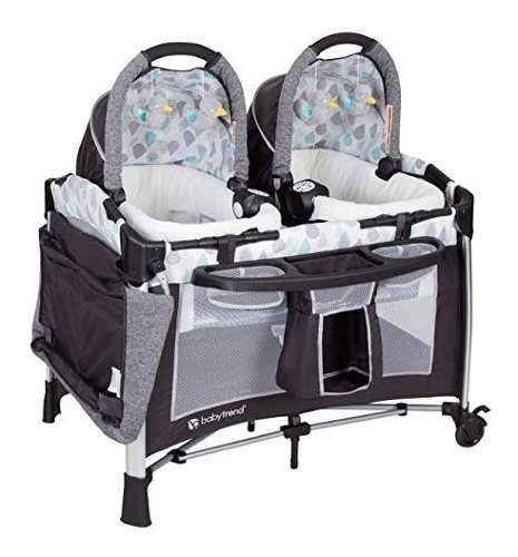 Baby trend go lite blue cuna corral moises gemelar bebe