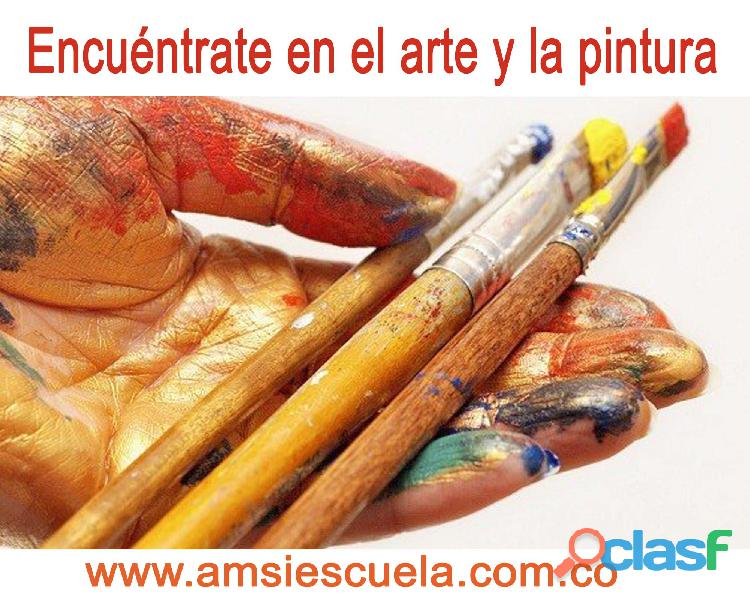 ESCUELA DE DIBUJO Y PINTURA   Clases para jóvenes y adultos  AMSI