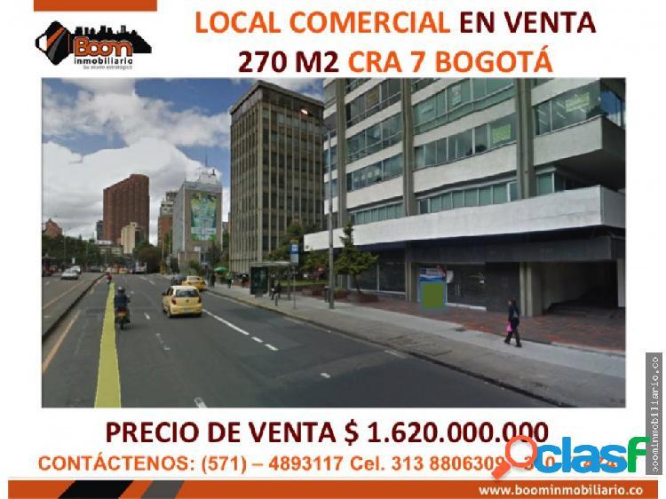 ***venta local 270 m2 cra 7 parque nacional