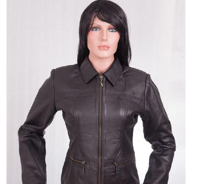 Venta lindas chaquetas en cuero para hombre mujer